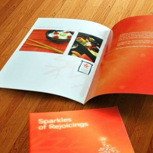 A4 Gloss Coated Portrait Booklets
