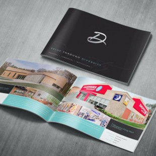 A5 Gloss Coated Landscape Booklets