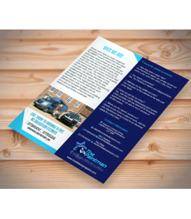 Double DL Gloss Coated Leaflets (130gsm)