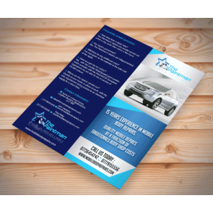 Double DL Uncoated Leaflets (130gsm)