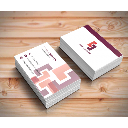 London print shop double sided gloss laminated business cards business cards reheart Choice Image