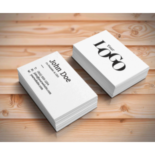 Double Sided Uncoated Business Cards