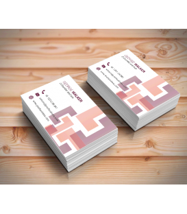 Single Sided Gloss Laminated Business Cards